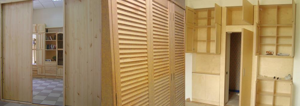 Мебель своими руками из дерева шкаф купе 12