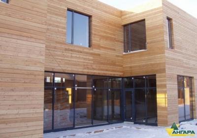 фасадный планкен лиственница