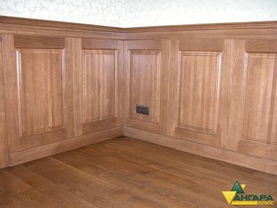мебельный щит из сосны 18 и 40 мм в интерьере квартиры