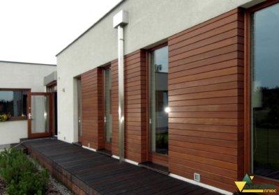 планкен для фасада дома