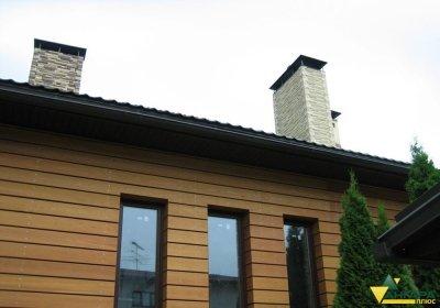 планкен лиственницы в интерьере частного дома