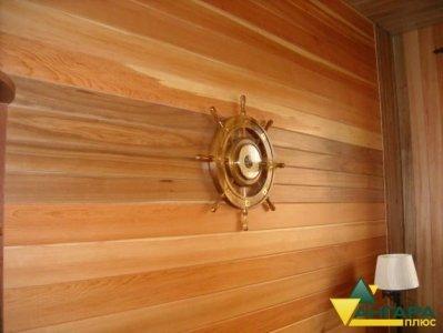 планкен из лиственницы в интерьере