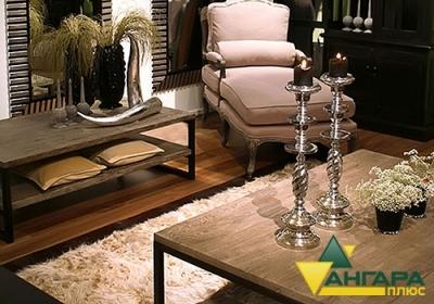 Кофейные столы из сращенного мебельного щита