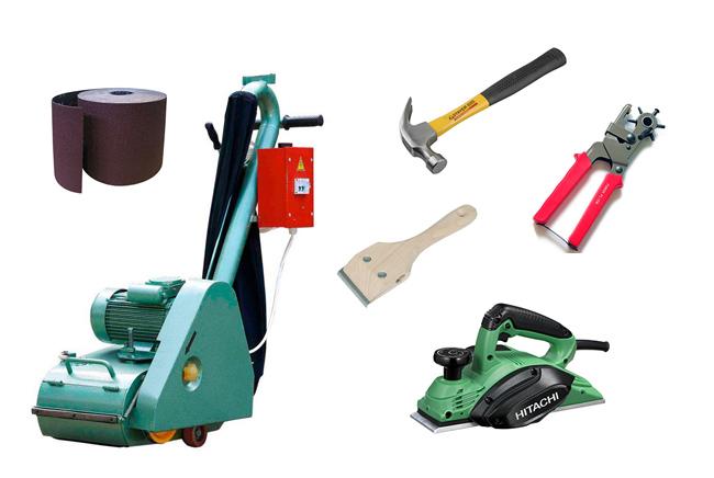 Инструменты для циклевки