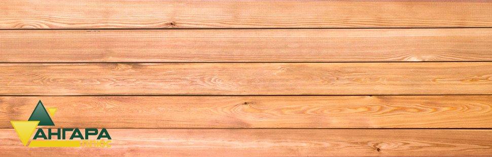 Планкен из лиственницы сорта А