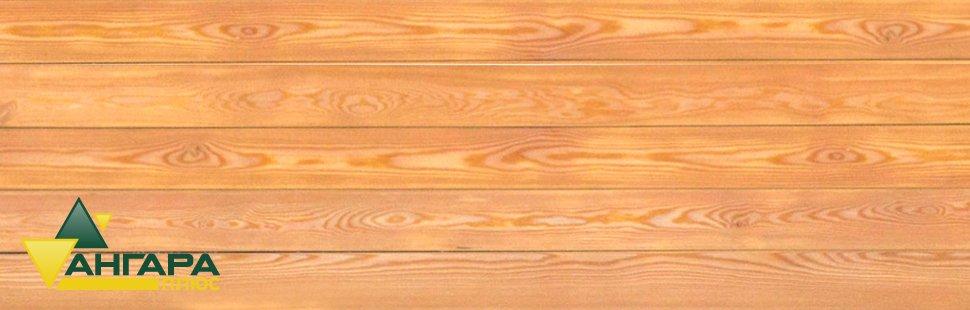 Вагонка (штиль) из лиственницы сорта Экстра