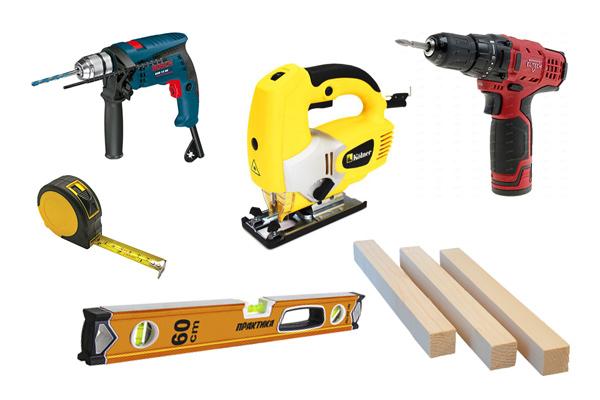 Инструменты для укладки фасада