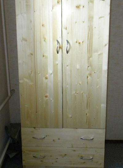 Шкаф из мебельного щита своими руками